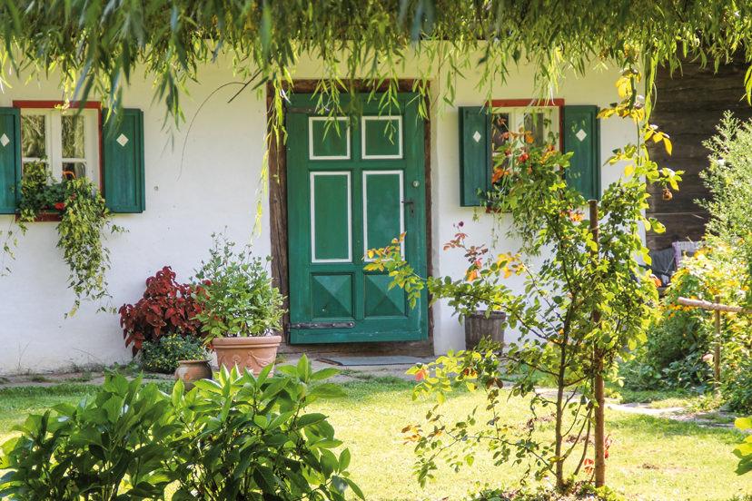 Eingang vom Bauernhaus | © Rauch-Hof