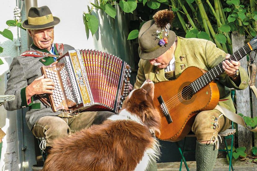 Musizieren beim Wirtshaus Jagawirt | © Wirtshaus Jagawirt