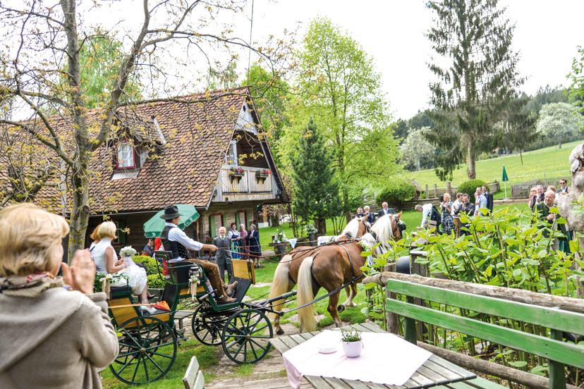 Kutschenfahrt am Reinischkogel | © Wirtshaus Jagawirt