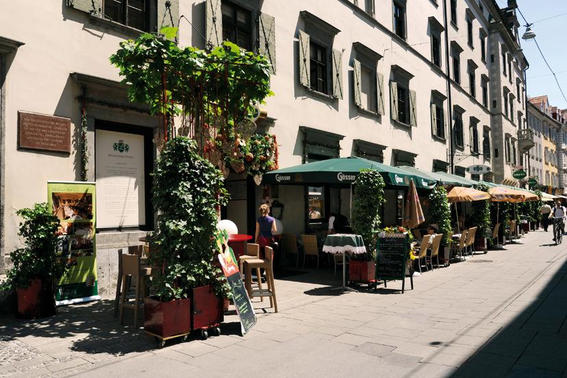 Terrasse | © Welscher Stubn