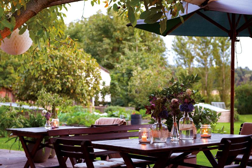 Terrasse | © Restaurant Gasthaus Thaller