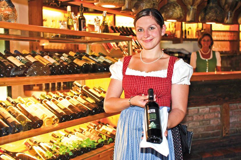 Große Weinauswahl in der Kaminstubn | © Kaminstubn
